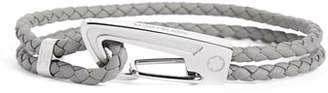 Montblanc Braided Leather Bracelet