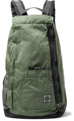 Stone Island Nylon And Canvas Backpack