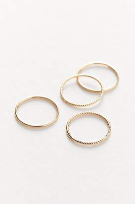 Urban Outfitters Delicate Pinky Ring Set