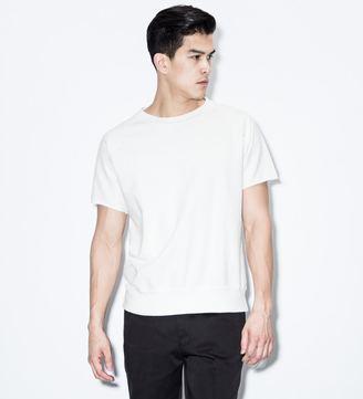 "VAINL ARCHIVE White ""Sam"" S/S Crewneck Sweater"
