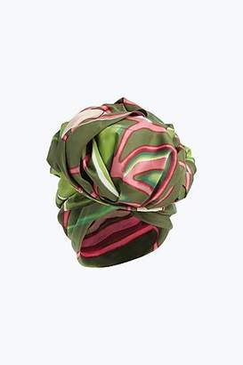 COLLECTION (RUNWAY) Graphic Flowers Turban