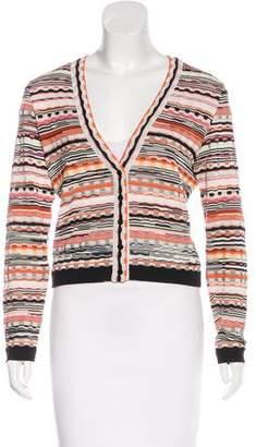 Missoni Silk Patterned Cardigan