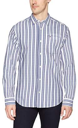 Tommy Hilfiger Tommy Jeans Men's Button Down Shirt Relaxed Fit