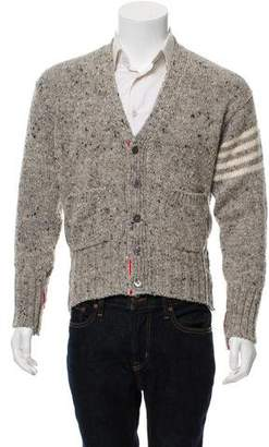 Thom Browne Rib Knit Button-Up Cardigan