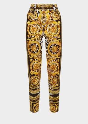 Versace Wild Baroque SS'92 Print Jeans