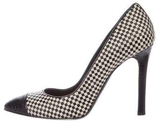 Tom Ford Woven Leather Pumps