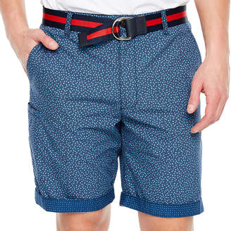 SOCIETY OF THREADS Society Of Threads Mens Mid Rise Stretch Chino Short