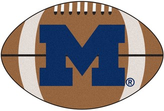 NCAA Fanmats FANMATS Michigan Wolverines Football Rug