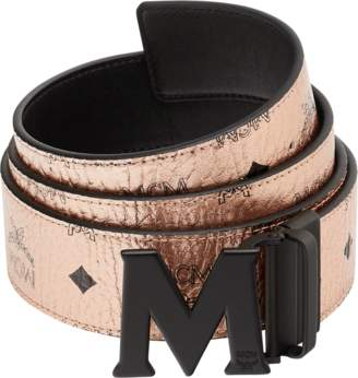 "MCM Claus Reversible Belt 1.75"" In Visetos"
