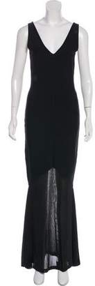 Ralph Lauren Black Label Bandage Evening Dress