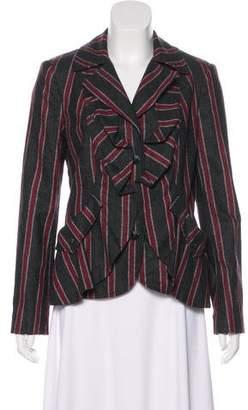 L.A.M.B. Striped Wool Blazer
