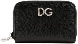 Dolce & Gabbana St. Dauphine Zip Around Wallet