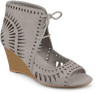 Journee Collection Zola Wedge Sandal - Women's
