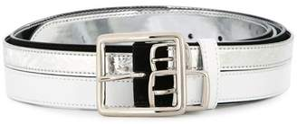 MM6 MAISON MARGIELA contrast buckled belt