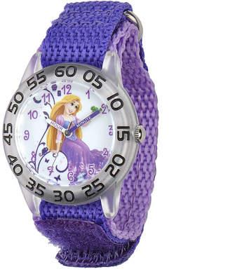 Disney Aurora Kids Purple Nylon Strap Watch