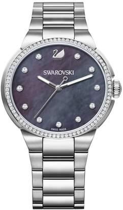 38b025ed72140 Swarovski Crystal Watch Bracelet - ShopStyle