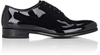 Barneys New York Men's Patent Leather Balmorals - Black
