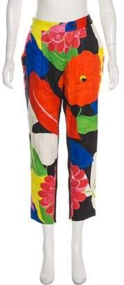 Sass & Bide Printed Mid-Rise Pants