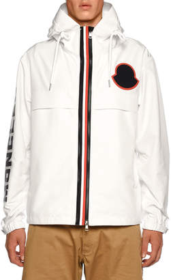 Moncler Men's Montreal Contrast-Trim Jacket