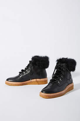 Botkier Lace-Up Hiker Boots