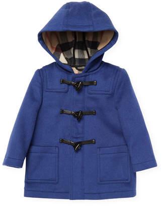 Burberry Hoodie Wool Coat
