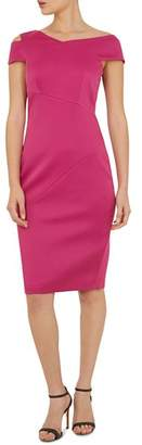 Ted Baker Aspyn Asymmetric Sheath Dress
