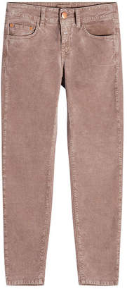 Closed Cropped Velvet Jeans
