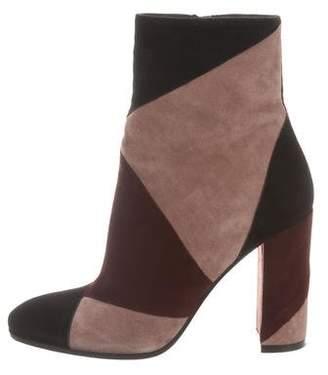 Gianvito Rossi Multicolor Suede Ankle Boots