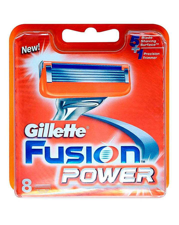 Gillette Fusion Power Blades 8`s