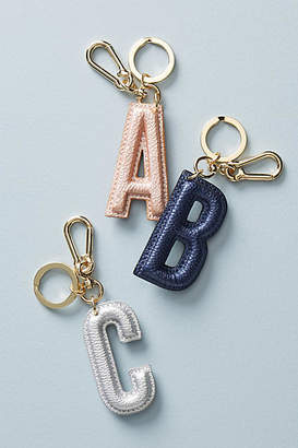 Anthropologie Monogram Keychain