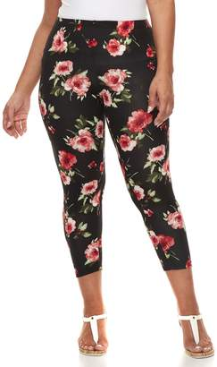 Laundry by Shelli Segal Plus Size French Laundry Printed Leggings