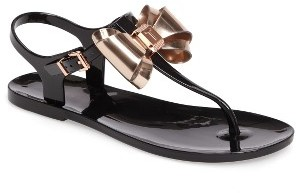 Women's Ted Baker London Ainda Slingback Bow Sandal $84.95 thestylecure.com