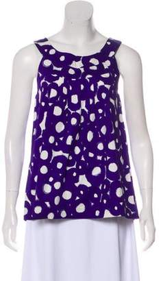 Theory Printed Sleeveless Top