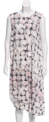 MM6 MAISON MARGIELA Plaid Floral Dress w/ Tags