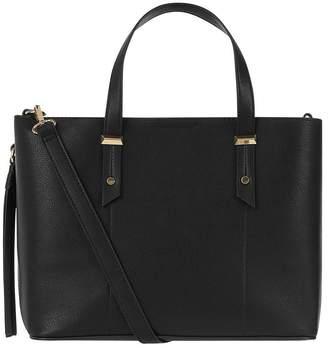 Accessorize Emma Handheld Bag - Black