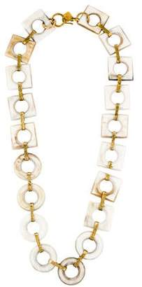 Ashley Pittman Mbele Light Horn Necklace