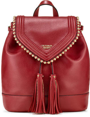 Victoria's Secret Victorias Secret Ball Stud Flap Backpack