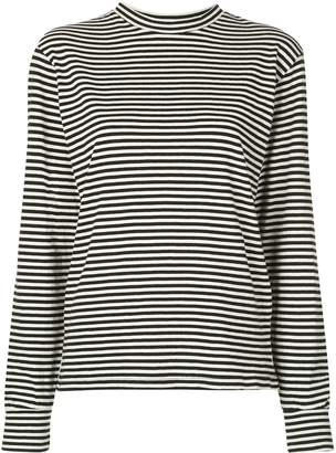 RE/DONE striped long sleeves sweater
