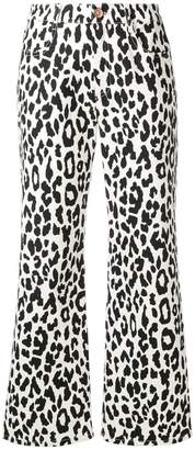 See by Chloe leopard print jeans