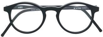 Kyme round frame glasses