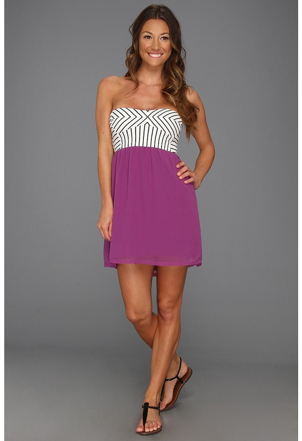 Roxy Take Me In Your Arms Dress (Electric Orchid) - Apparel
