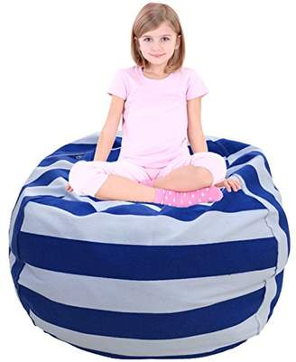 Large Bean Bag | Toy Storage | Children's Chair Cover | Children Chair | Soft Toy Bag | Kids Toys Organizer | Bean Bag Cover | Comfy Chair Comfortable Seating for Kids