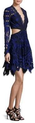 Thurley Vassete Lace Cut-Out Dress