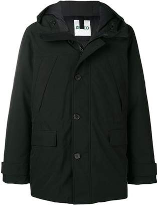 Kenzo padded fitted coat