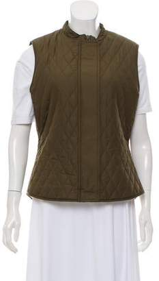 Belstaff Faux Shearling-Lined Quilted Vest