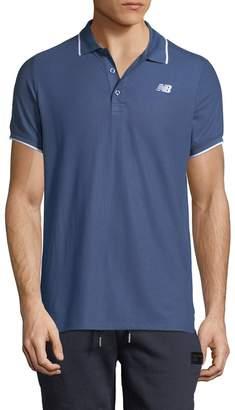 New Balance Men's Woven Polo Shirt