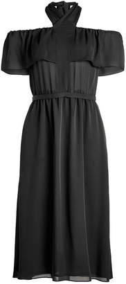 Vanessa Seward Silk Chiffon Dress