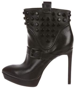 Michael Kors Leather Studded Boots