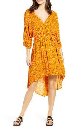 MinkPink Delicate Daze Floral Print Midi Dress