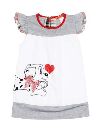 Funkyberry Puppy Bow Dress